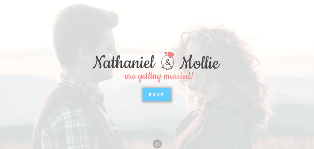 Nathaniel and Mollie Homepage