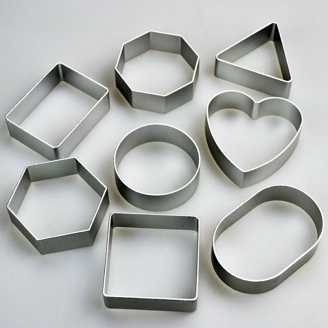 basic cookie cutter shapes